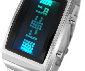 Tokyoflash Negative LCD/LED Watch is Positively Cool