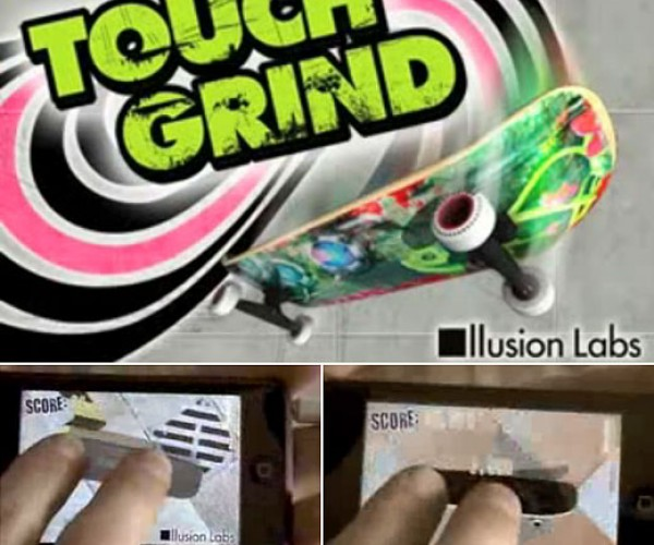 Touch Grind: iPhone Gets Multitouch Skateboarding Game