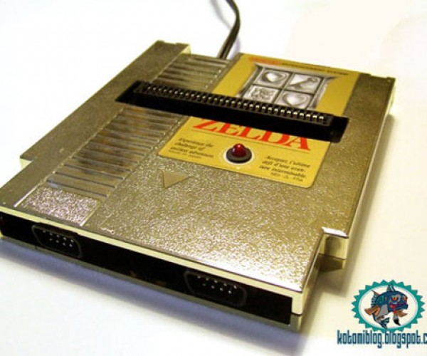 Famicard NES on a Cartridge Gets Zelda-Fied
