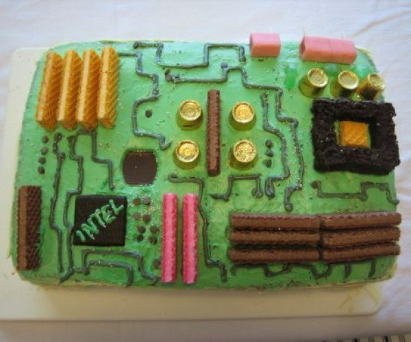 Cakes Just Like Your Motherboard Used to Make