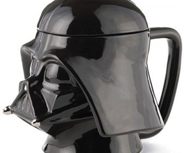 Darth Vader Mug Holds the Dark Side of Your Coffee