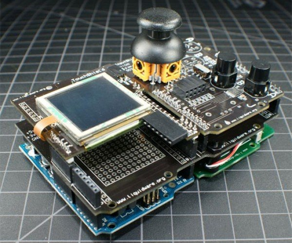 Arduino Gamepack: Make Your Own Open Source Gameboy