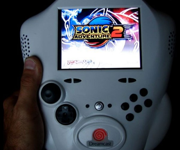 Sega Dreamcast Stormtrooper Portable: the Dreamtrooper