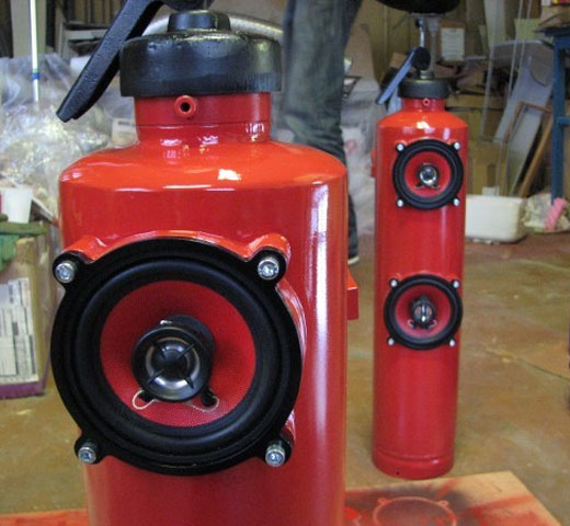 fire extinguisher speaker m