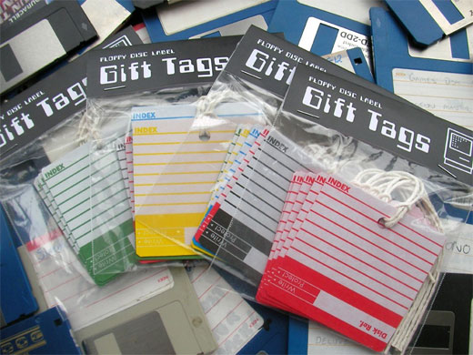 floppy disk gift tags 2