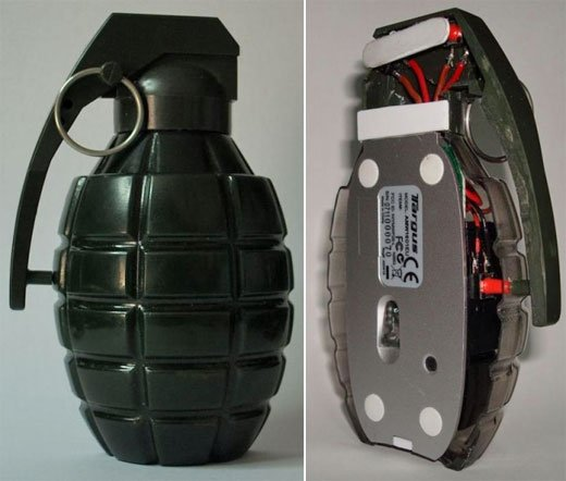 grenade mouse