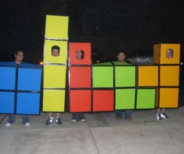 DIY Group Tetris Costume Will Earn You Lots of Candy