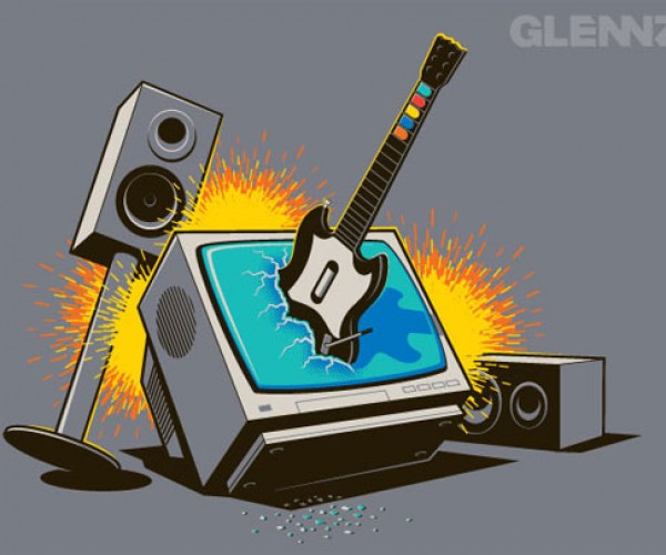 Great Geeky T-Shirts From Glennz Tees