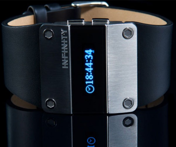 Infinity Digital Watch: Bye, Bye LED, Hello OLED!