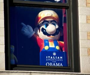 Mario + Obama = Mariobama?