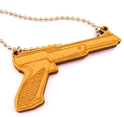 nes zapper necklace