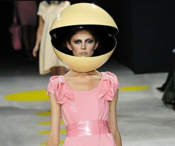 Classy Pac-Man on the High Fashion Runway