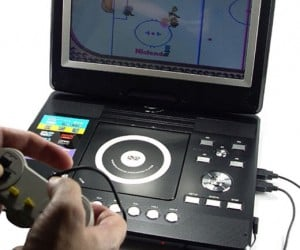 Portable DVD Player Gets Huge Screen, Plays NES Games