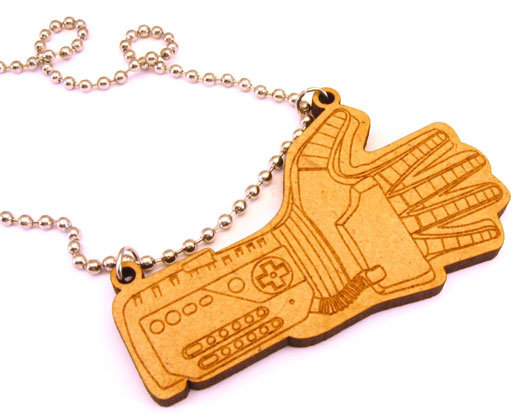 power glove necklace