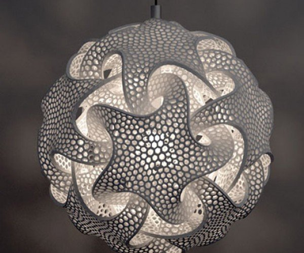 Cosmically Cool Lamp Built With 3d Laser Printing