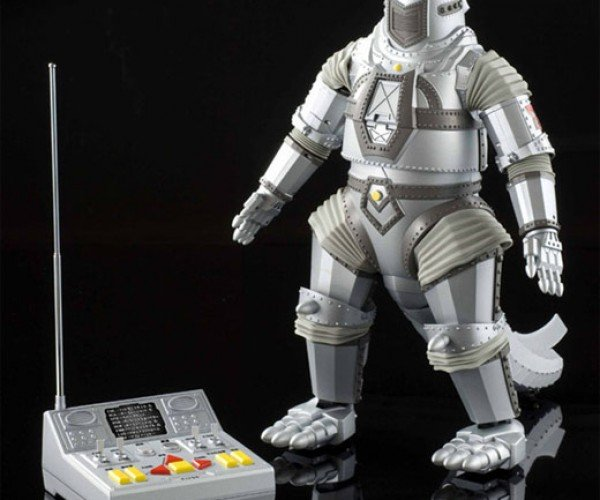 R/C Mechagodzilla Robot: Crush, Crumble and Chomp!