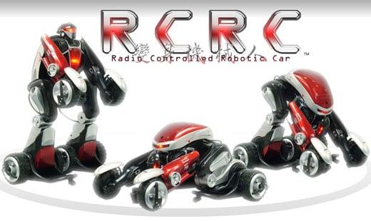 rcrc transformer robot car