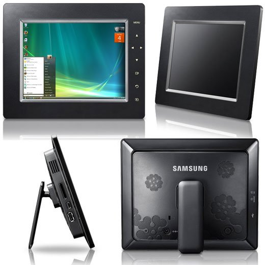 Samsung SPF-85H and SPF-105P UbiSync LCD Monitors