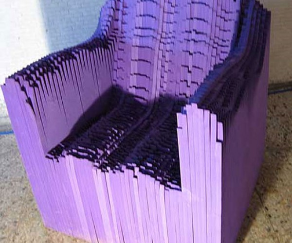 Sound/Chairs Get Their Shape From Audio Waves