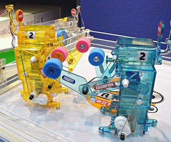 R/C Boxing Robots Offer Up a Technical Knock Out