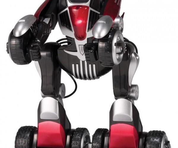 Rcrc Robot Car: No Transformer, Still a Robot in Disguise