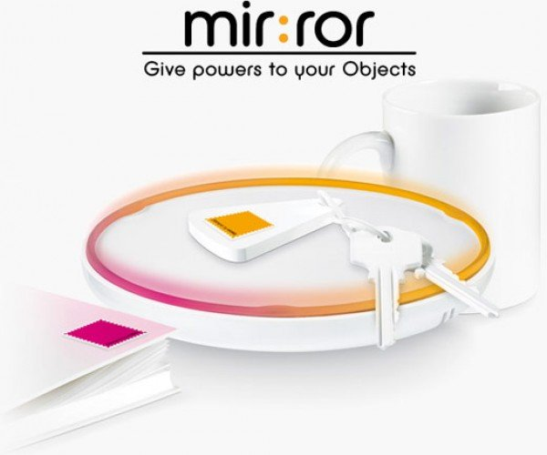 Violet Mir:Ror Connects All Your Stuff via Rfid