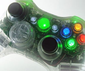 Xcm Crystal Makes Xbox 360 Controller Clear and Bright
