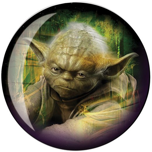 yoda bowling ball
