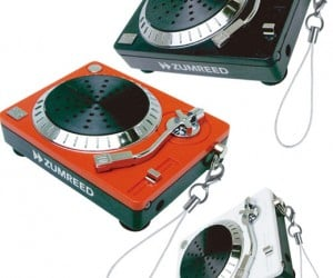 Zumreed Turntable Speaker for Pocket Sized Djs
