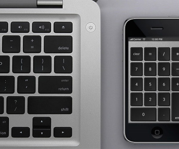 Numberkey Transforms iPhone Into Numeric Keypad