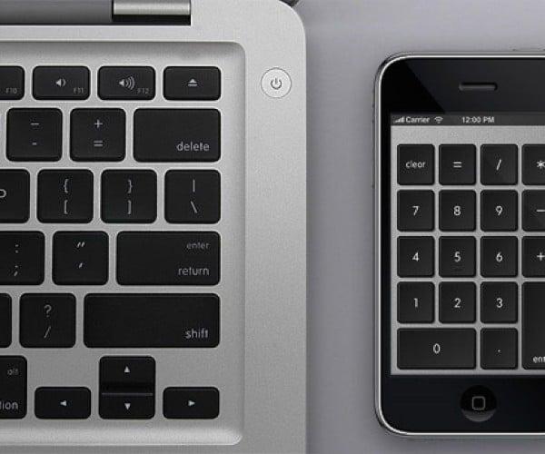 Numberkey Transforms iPhone Into Numeric Keypad