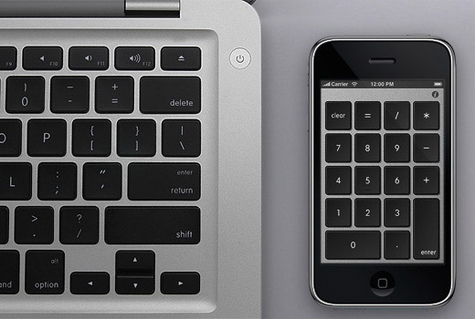 Balmuda Numberkey iPhone Numeric Keyboard