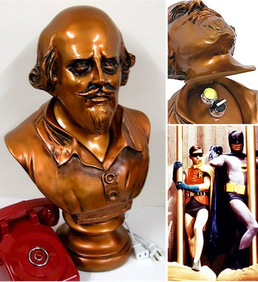 Batman Remote Control Shakespeare Bust