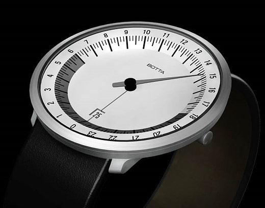 Botta Uno 24 Watches 1 Rotation 1 Day Technabob