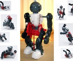 Co-Robot Offers (Drunken) Humanoid Moves on the Cheap