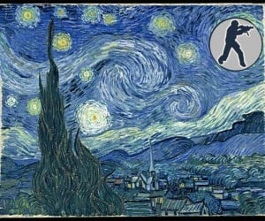 Counter-Strike'S Starry Night