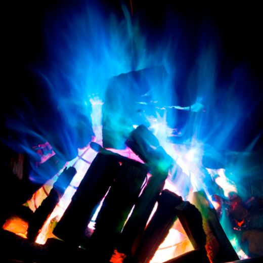 Mystical Colored Fire Powder