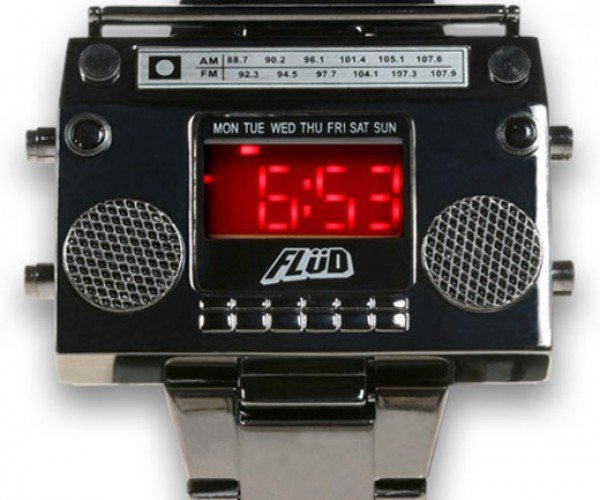 LED Boombox Wrist Watch: Hip Hop Hooray!