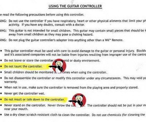 Wii Guitar Hero Controller Needs Wii Remote and Your Respect