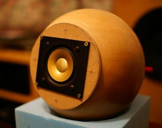 IKEA Hack Blanda Matt Salad Bowl Speakers