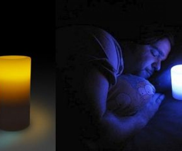 LED Candle Can be Blown Off and on