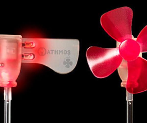 Mathmos Wind Lights Powered by Tiny Turbines
