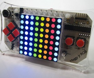 Meggy Jr Rgb Handheld: Build Your Own Pixel Games