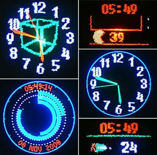 Persistence of Vision LED Clock Gets a Major Upgrade