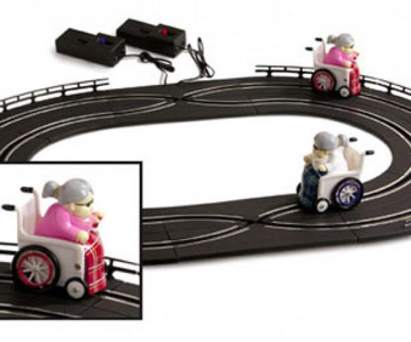 Old People Racing: Rude but Fun