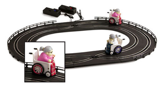 Racing Grannies Slot Cars