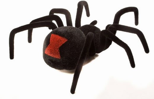 rc black widow spider back