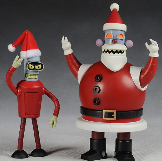 Futurama Robo Santa and Santa Bender