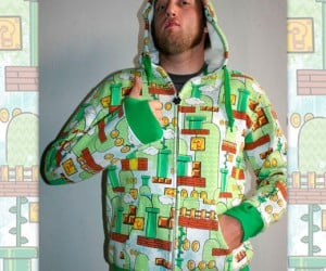 Super Mario Camo Hoodie: Hide in the Mushroom Kingdom