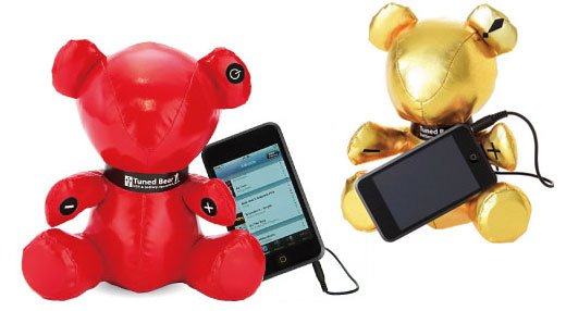 tuned bear ipod speaker